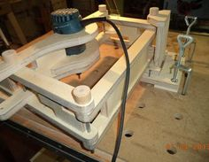 3 - D  router pantograph Holzbearbeitung