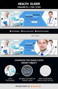 Health Slider Template PSD. Download here: http://graphicriver.net/item/health-slider/15418678?ref=ksioks