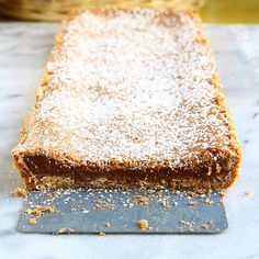 nutella crack pie - a slice of this and a glass of milk would be a little piece of heaven!