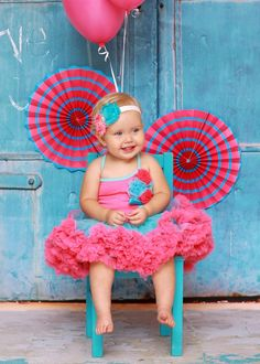 Lollipop Moon Cotton Candy Blue & Pink Tutu Dress-The Cotton Candy Blue & Pink Tutu Dress is one hip kids clothes fashion that is hard to resist! Pink And Blue Dress, Pink Tutu Dress, Blue Party Dress, Girls Party Dress, Girl Tutu, Pink Blue, Blue Tutu, Tutu Dresses, Blue Cotton Candy