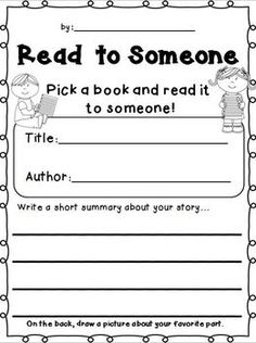 Reading Stations FREEBIE! Response sheets for Read to Self, Read to Someone, Listening, Writing, and Word Study. ENJOY!