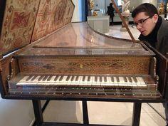 Harpsicord Victoria@Albert Museum