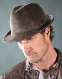 3026a953193 Mens Faux Leather Fedora Mens Hat Store