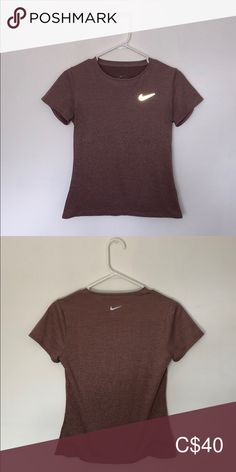 Shop Women's Nike Pink Purple size S Tees - Short Sleeve at a discounted price at Poshmark. Plus Fashion, Fashion Tips, Fashion Trends, Nike Tops, Pink Purple, Nike Women, Short Sleeves, T Shirts For Women, Crop Tops