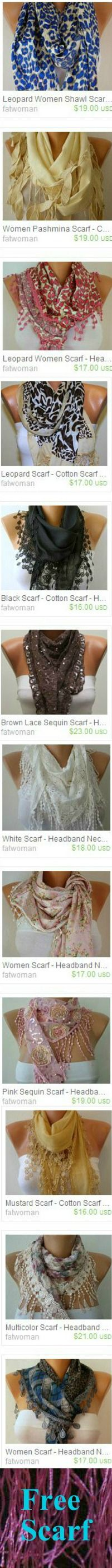 SCARF by Fatwoman on Etsy,  - $17.00