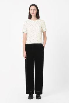 COS | Dotted wool top
