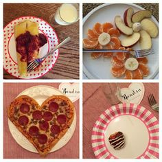 Fun food ideas for Valentines day at home. My Insanity - An insane amount of creative ideas