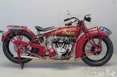 "Indian mc  ""101"" Scout  600 cc side valve V-twin 1928 for sale"