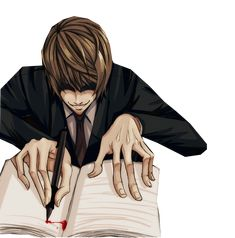Render Death Note - Renders death note raito light kira