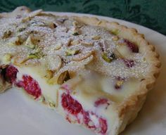Ok, this is my new favourite dessert! Crisp pastry with a layer of lush fresh raspberries and nuts, covered in creamy white chocolate - Im in love! This has been adapted from The Chefs Table and is really easy to put together. You can make the tart case in advance and then fill it 4-5 hours before serving. The recipe makes a 10 tart, but I have made a smaller one (8) by halving the filling, I made an extra tart case with the left over pastry and saved it for another day. Please see…