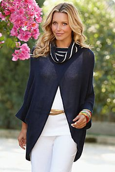 Love this sweater from Soft Surroundings
