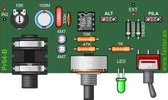 Electronics Basics, Electronics Projects, Audio Amplifier, Audio Speakers, Electrical Installation, Circuit Diagram, Pedalboard, Music Instruments, Google Translate