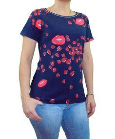Camiseta con cola estampado mariquitas #camiseta #moda #moda mujer #tienda #tienda online #estampado