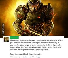 He's got the point Video Game Party, Video Game Memes, Video Games Funny, Funny Games, Funny Gaming Memes, Gamer Humor, Dc Comics Games, Doom Game, Geek Games