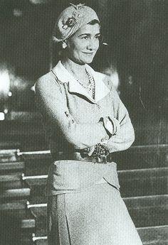 Coco Chanel triunfó en los años 30