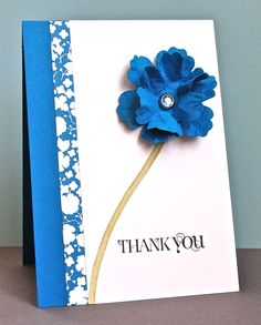 Stampin' Up ideas and supplies from Vicky at Crafting Clare's Paper Moments: Beyond the Garden huge flower