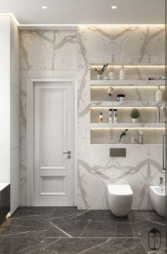new ideas for bathroom spa grey toilets Bathroom Rules, Modern Bathroom Decor, Bathroom Trends, Bathroom Spa, Grey Bathrooms, Bathroom Interior Design, Small Bathroom, Master Bathroom, Bathroom Goals