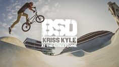 BSD and Red Bull have teamed up to give Kriss Kyle the chance to have the first ever session at the newly built Streetdome park in Haderslev, Denmark. Kriss was… Bmx Videos, Red Bull, Denmark, Bike, Park, Tv, Bicycle, Television Set, Bicycles