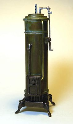 1:12th scale miniature Victorian water boiler