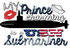 Prince Charming, my submariner.