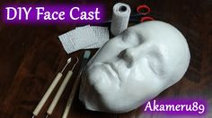 Hi Guys! I wanted a face cast to masks and such on an decided on making my own :) I did it by making a full face mask on my self with plaser gauze (don't do ...
