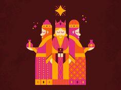 3 Wise Men by Luke Bott