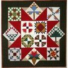 Classic Folk Art Pieced Quilt