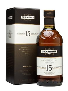Drambuie's longer aged whisky liqueur, made with whiskies aged for at least 15 years and with all the extra depth of flavour and general tastiness you'd hope that implies. One we're happy to see ba...