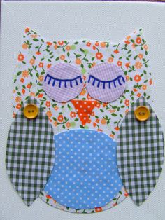 OWL baby room decor, so easy to make! Also reminds me of my friend Jess :)