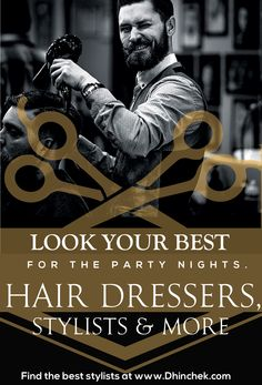 Men need night outs just as much as women need shopping. Look your best by booking for a stylist through our App https://play.google.com/store/apps/details?id=com.dhinchek.user or website http://dhinchek.com