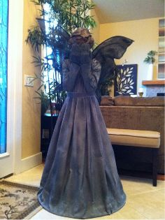 Weeping Angel costume (from Dr. Who) ---- @Sarah Chintomby Hernandez  halloweens coming!!
