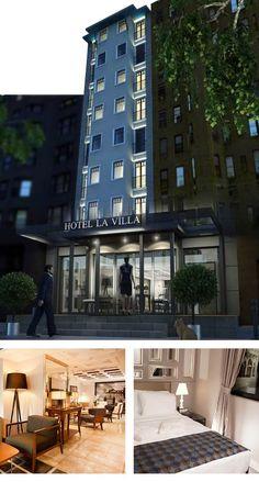 Istanbul Beyoğlu'nda bulunan turistler için seçilebilecek en güzel taksim otelleri arasında yer alan Hotel La Villa