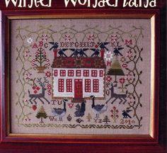 WINTER WONDERLAND by Blackbird Designs   Cross by DinkyDoodads