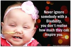 Many also do not realize how much their love and time mean to our special needs children.