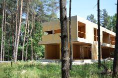 Zdjęcie numer 30 w galerii - Dom w siedem dni? Jednorodzinny dom z drewnianych prefabrykatów w Raszynie