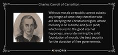 Without morals a republic cannot subsist any length of time - Google Search