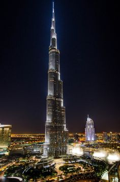 Burj Khalifa and The Address - Dubai
