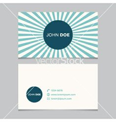Business card pattern blue 04 vector - by thecorner on VectorStock®