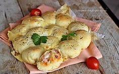 Danubio prosciutto e formaggio senza lievitazione ricetta veloce