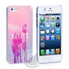 Hakuna Matata Quote iPhone 4, 4S, 5, 5C, 5S Samsung Galaxy S2, S3, S4 – iCasesStore