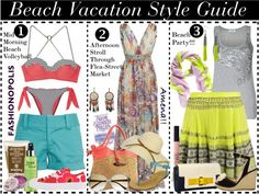 4f6f268502318   Beach Vacation Style Guide    Fashion  Style  BeachFashion  SummerStyle