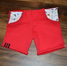 DIY - Kort broekje - VanZussies Sewing Clothes, Bermuda Shorts, Kids Outfits, Children, Baby, Ties, Fashion, Fashion Styles, Sewing For Kids