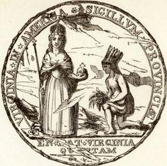 Colonial Seal of Virginia
