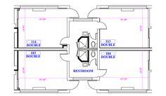 North quad suite plan