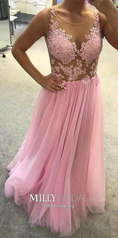 Prom Dresses Tight, Pink Bridesmaid Dress,Tulle Bridesmaid Dress,Elegant Prom Dresses ,Lace Appliques Evening Gowns Fest We Tulle Bridesmaid Dress, Elegant Bridesmaid Dresses, Pink Prom Dresses, A Line Prom Dresses, Cheap Prom Dresses, Tulle Dress, Lace Dress, Party Dresses, Ball Dresses
