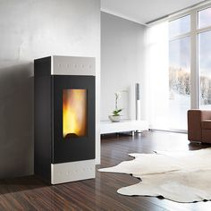 Stufa a pellet Montegrappa Tile Xw Canalizzata Wood Stoves, House, Design, Home Decor, Natural, Ideas, Decoration Home, Home, Room Decor