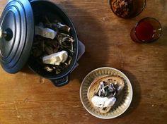 ナイジェル・スレーター week ☆ キノコとチーズのトースト … ストウブSTAUB ホットプレート - plat du jour*