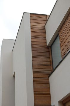 Varying width shiplapped horizontal wood siding for Modern horizontal wood siding