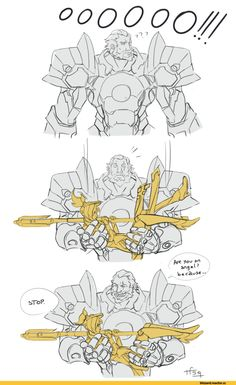 Overwatch,Blizzard,Blizzard Entertainment,фэндомы,Reinhardt,Mercy (Overwatch),Overwatch Comics
