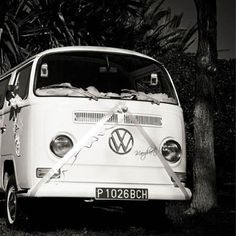 Alquiler furgoneta Volkswagen T2 blanca (reserva de servicio)